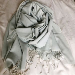 Pale Mint Green Cashmere Pashmina